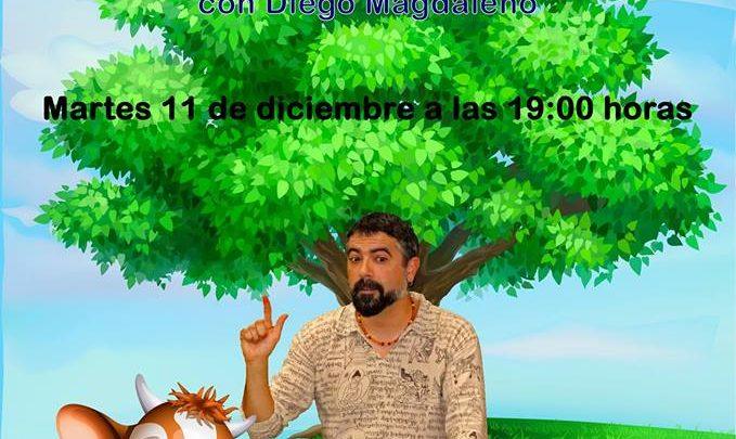 """Las Bibliotecas Cuentan """"Animaladas"""" con Diego Magdaleno 2018"""