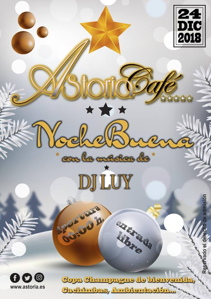 Nochebuena en Astoria con la música de Dj Luy