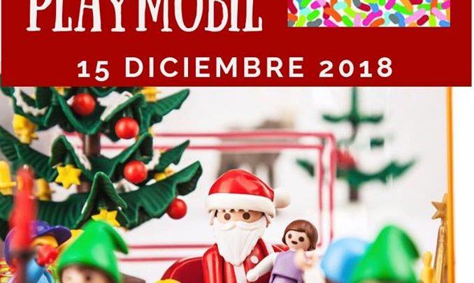 Mercadillo y Belén de Playmobil en Sevilla Factory