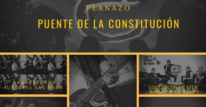 Puente de la Constitución de música en directo en Sala E - 2018