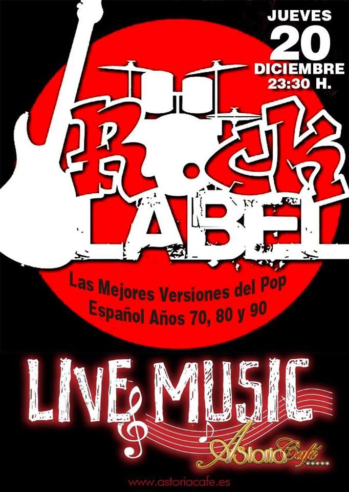 Rock Label en Astoria Café