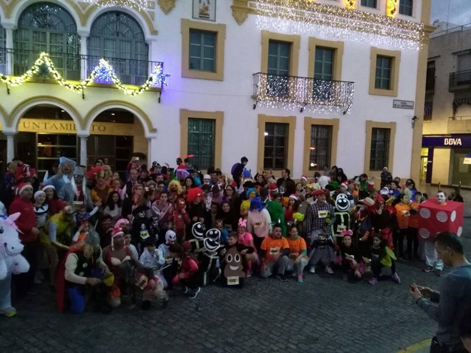 San Silvestre Nazarena organizado por C.d Los Botellines