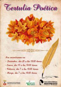 Tertulia de la Agrupación Literaria María Muñoz Crespillo en la Biblioteca de Montequinto