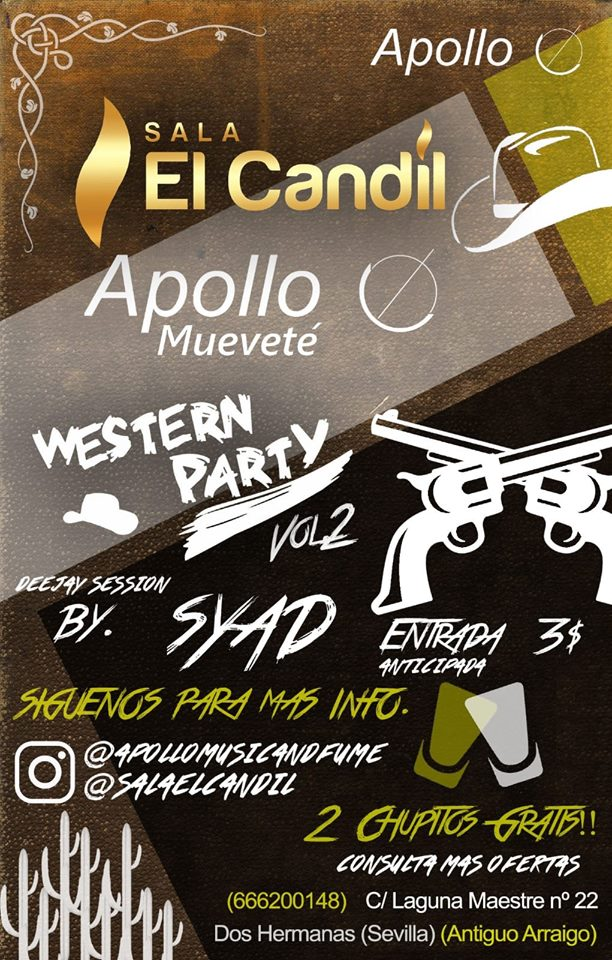 Western Party Vol.2 en Sala El Candil