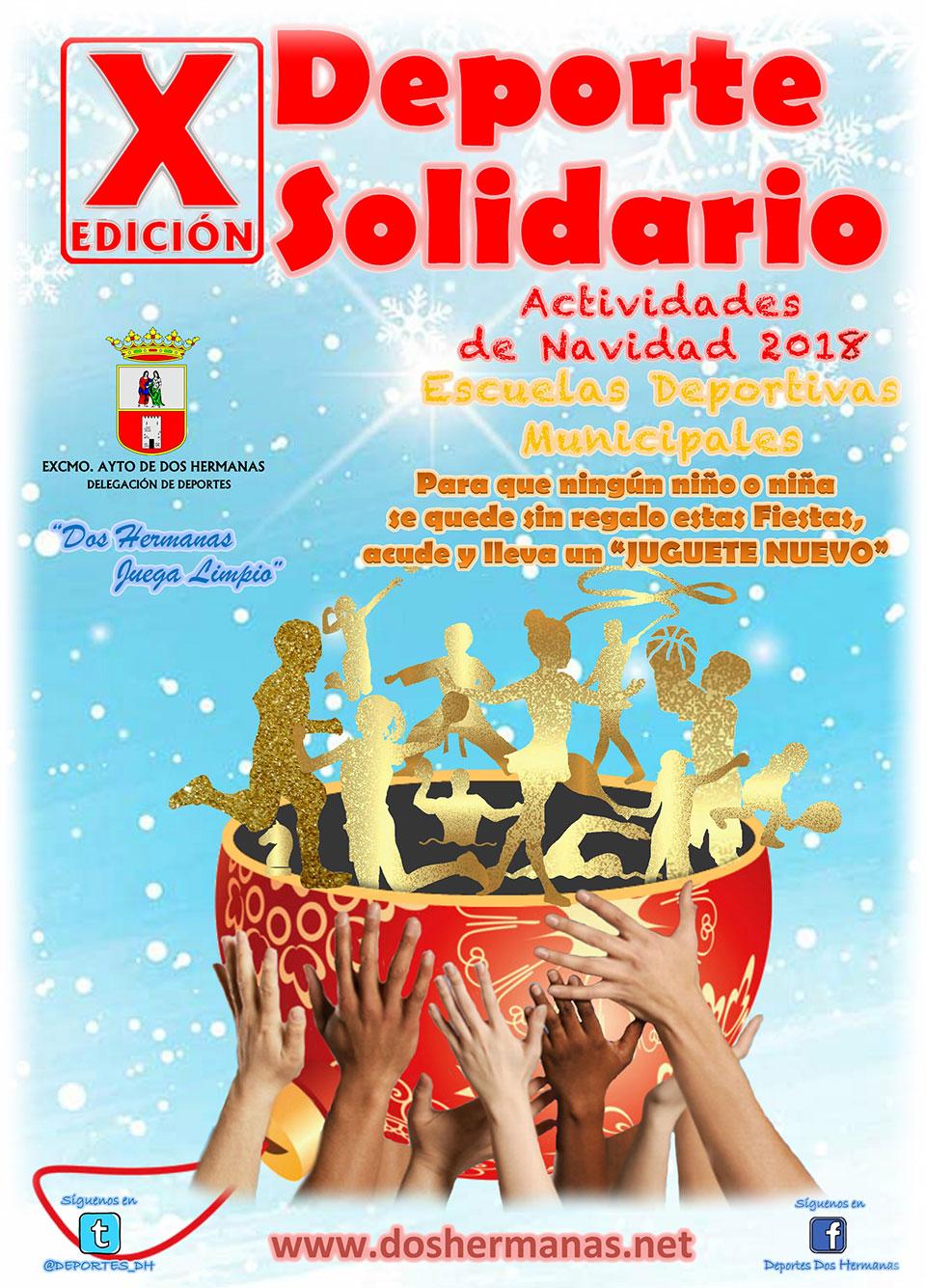 """X Edición Deporte Solidario """"Juguetes para una ilusión"""" 2018"""