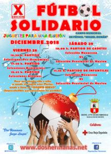 """X Edición Fútbol Solidario """"Juguetes para una ilusión"""" 2018"""