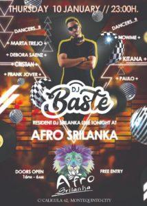 AfroSrilanka el jueves 10 de enero de 2019