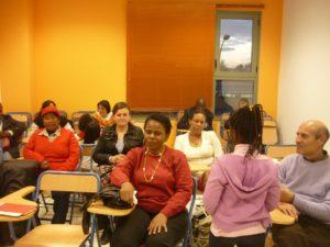 Asociación EMEM curso de empoderamiento de las mujeres