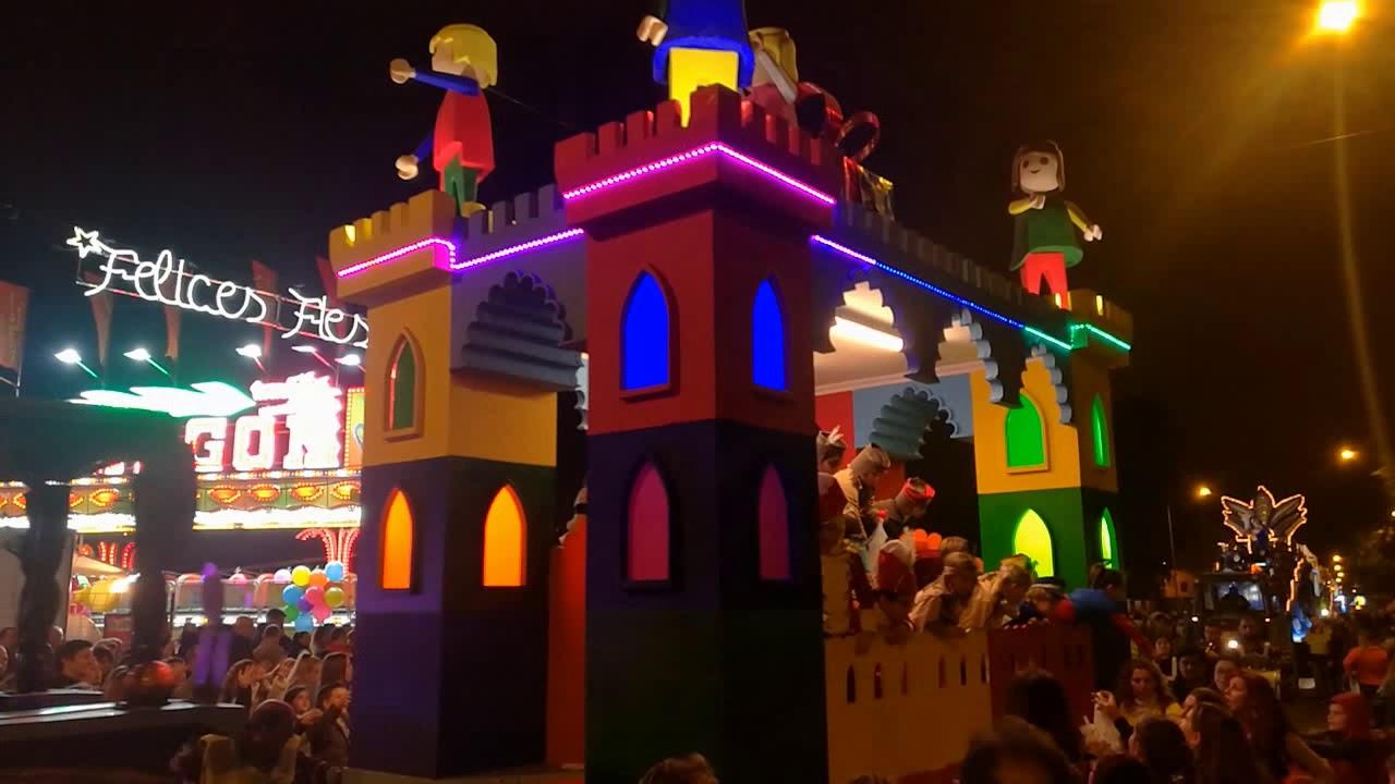 La Cabalgata de los Reyes Magos llenó de ilusión Albacete
