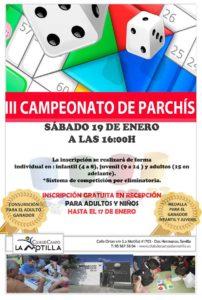 III Campeonato de Parchís en El Club de Campo La Motilla