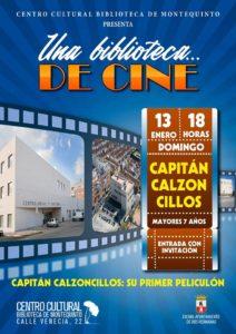 Capitán Calzoncillos en el Centro Cultural Biblioteca de Montequinto