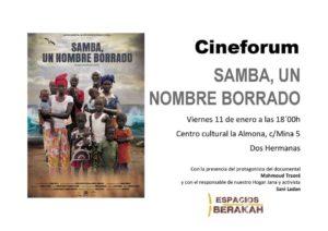 Cineforum Samba, un nombre borrado en el Centro Cultural la Almona