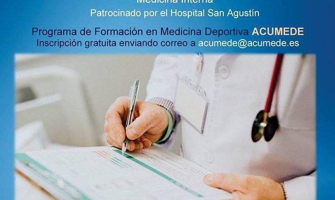 Conferencia Acumede Pruebas específicas en un Reconocimiento Médico Deportivo
