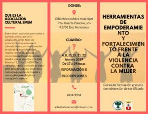Curso Herramientas contra la violencia de género en la Biblioteca Municipal Pedro Laín Entralgo
