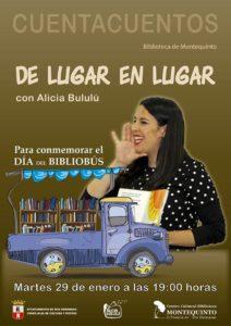 Cuentacuentos De lugar en lugar por Alicia Bululú