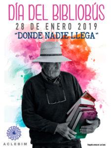 Día del Bibliobús cartel de 2019