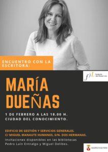 Encuentro con la escritora María Dueñas en la Ciudad del Conocimiento