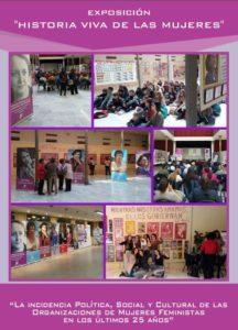 Exposición Historia viva de las mujeres en el Teatro Municipal Juan Rodríguez Romero