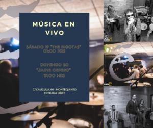 Fin de Semana en Sala E con The Bigotas y Jaime Cepero