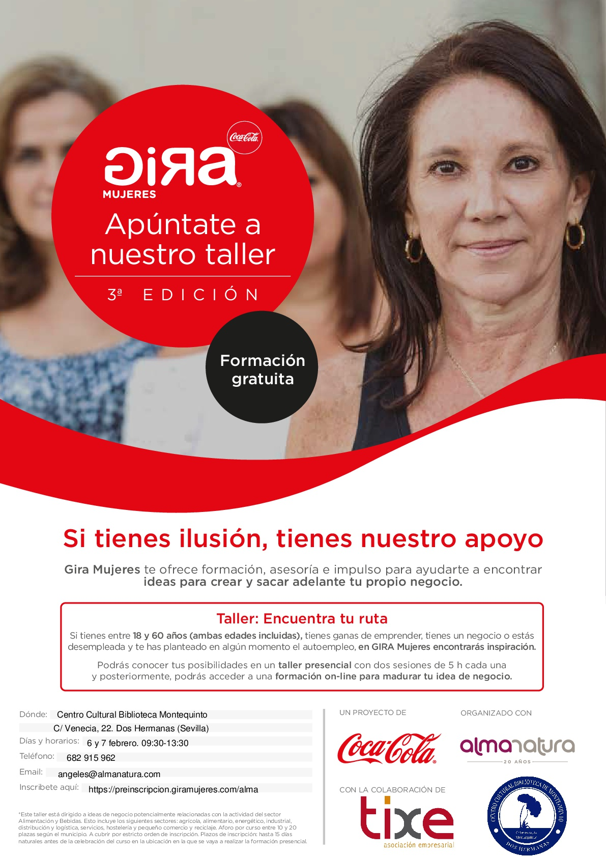 Gira Mujeres Coca-Cola en Dos Hermanas