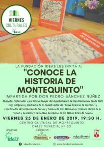 Conoce la historia de Montequinto charla impartida por Pedro Sánchez Núñez