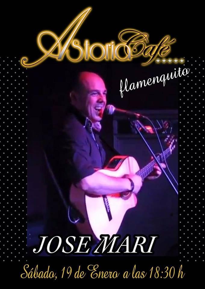 Jose Mari en concierto en Astoria Café