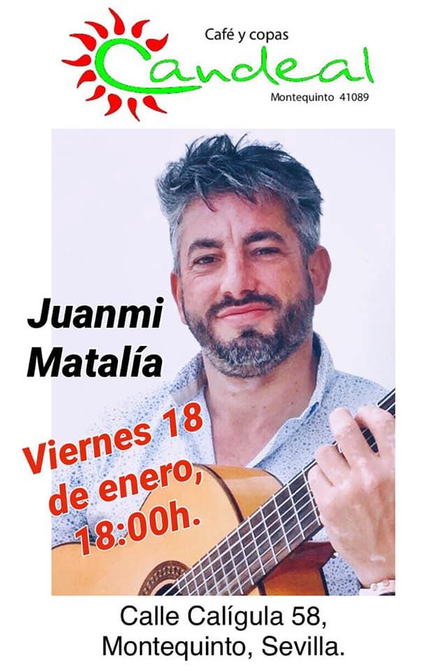 Juanmi Matalía en Candeal Musicafé