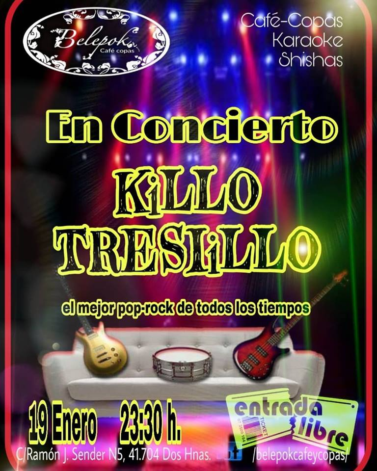 Concierto de Kiko Tresillo en Belepok Café