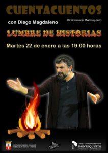 Lumbre de Historias con Diego Magdaleno