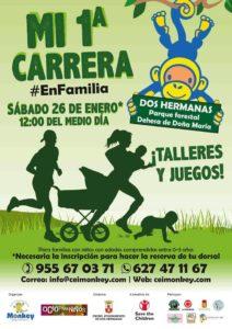 Mi 1ª Carrera Solidaria en Familia en el Parque Dehesa de Doña María