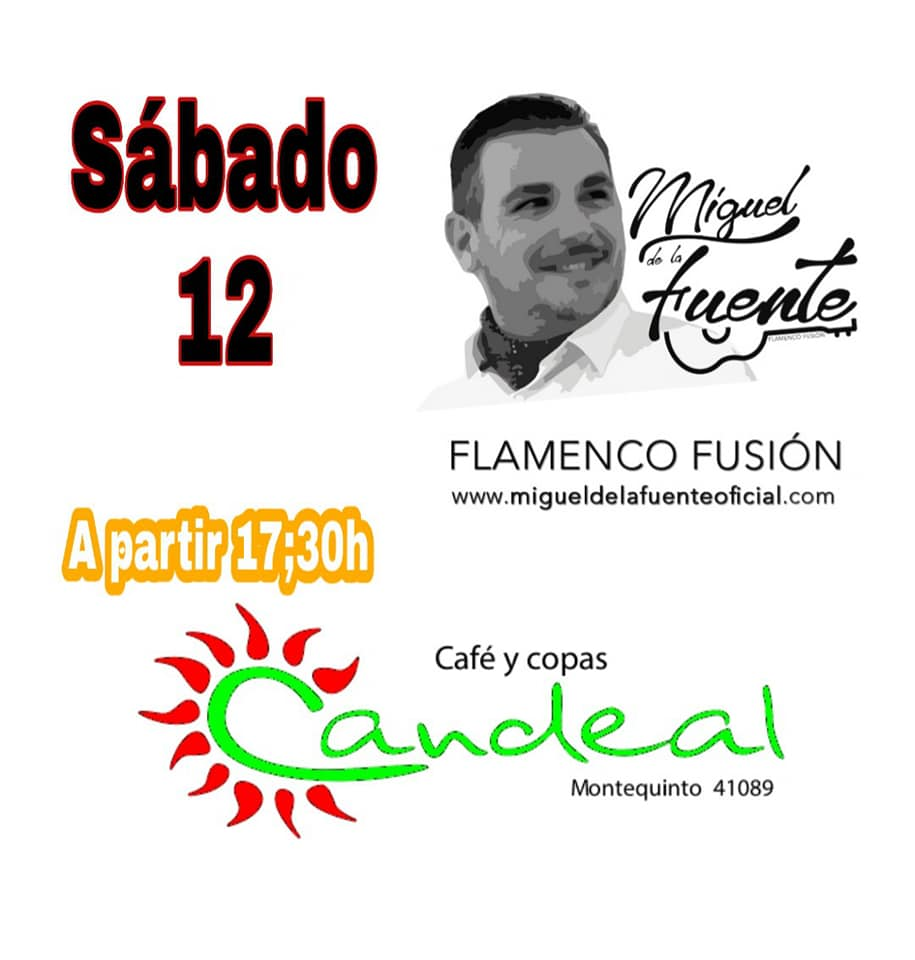 Flamenco fusión con Miguel de la Fuente en Candeal Musicafé