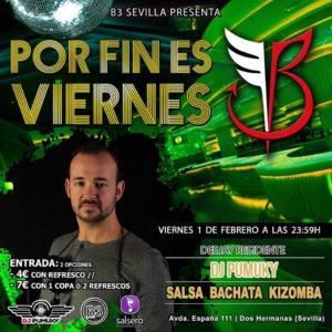 Por fin es viernes en B3 Sevilla