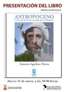 Presentación de Antropoceno en el Centro Cultural Biblioteca de Montequinto