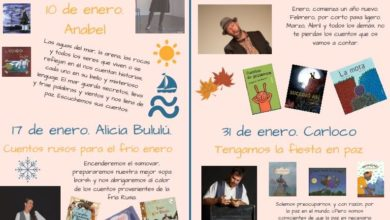 Programación cuentacuentos en enero en la Biblioteca Municipal Pedro Laín Entralgo