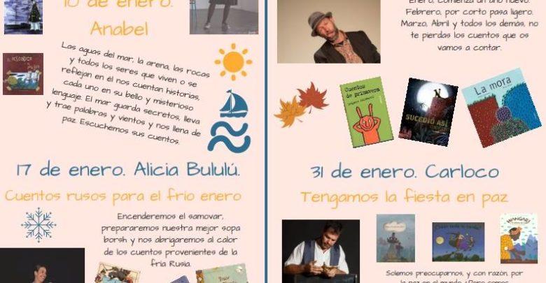 Photo of Programación de Cuentacuentos durante enero en la Biblioteca Municipal