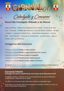 Recorrido Cabalgata del Carnaval Dos Hermanas 2019