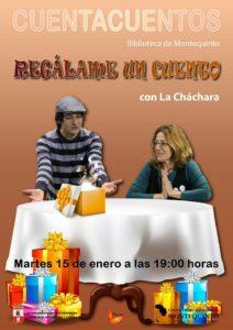 Regálame un cuento por el colectivo La Cháchara