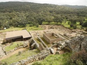 Ruinas de Munigua en Villanueva del Río y Minas