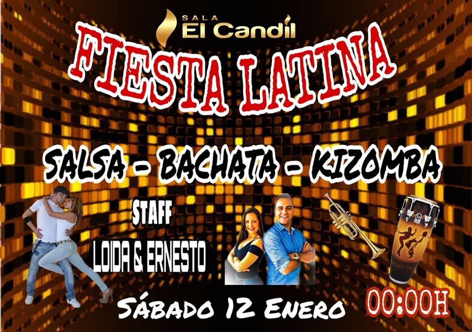 Fiesta Latina en Sala El Candil