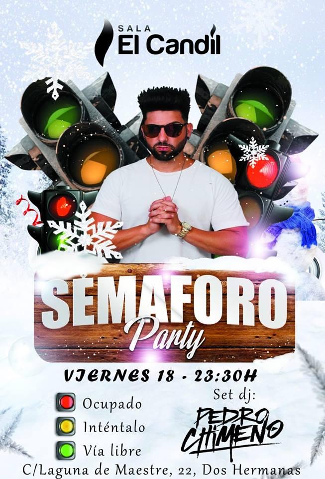 Semáforo Party en Sala El Candil