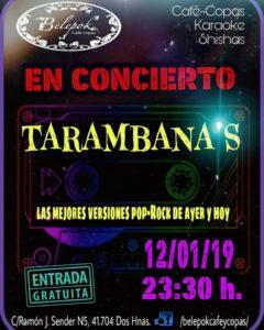 Actuación de Tarambana's en Belepok Café