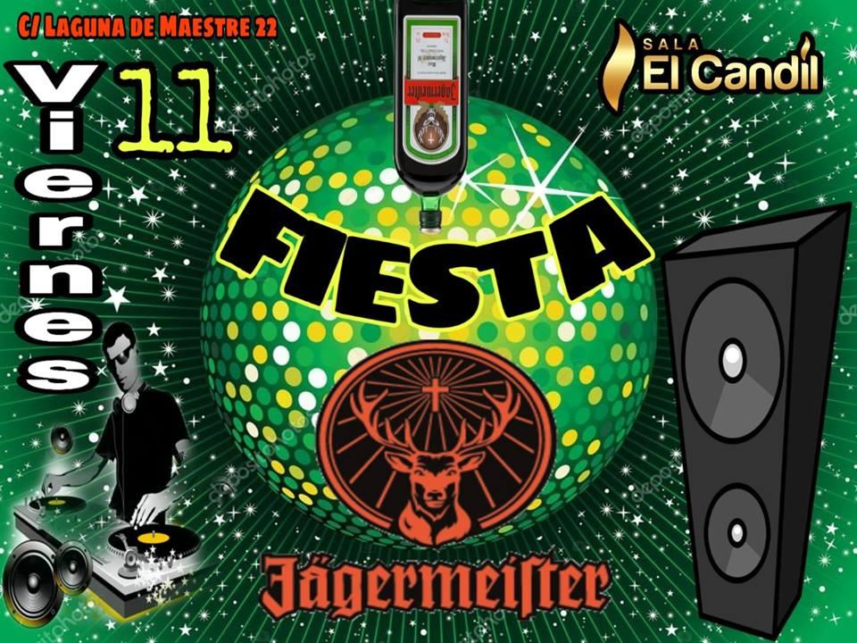 Fiesta Jägermeister en Sala El Candil