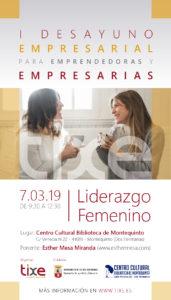 I desayuno empresarial sobre Liderazgo Femenino en el Centro Cultural Biblioteca de Montequinto