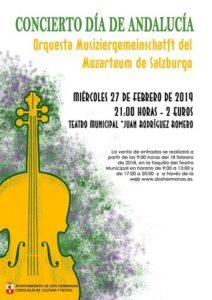 Concierto Orquesta Salzburgo en el Teatro Juan Rodríguez Romero