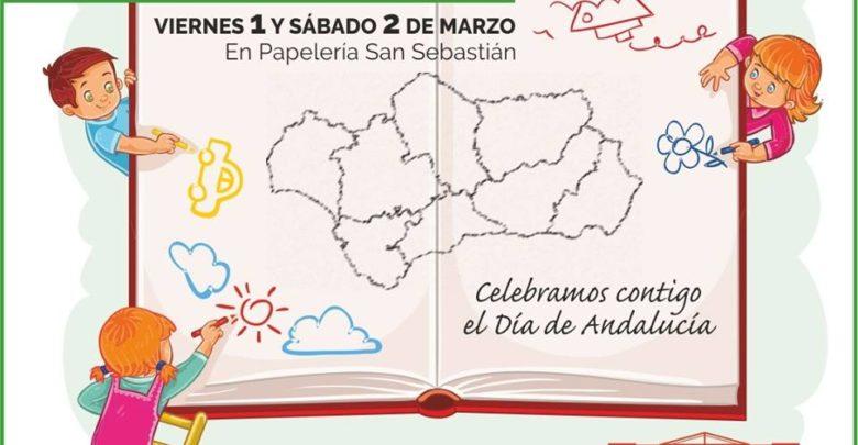 """Photo of Concurso para niños """"Así es mi Andalucía"""" en la Papelería San Sebastián"""