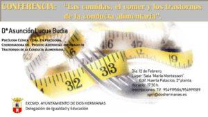 Conferencia sobre comida, comer y trastornos de la conducta alimentaria