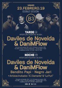 Daviles de Novelda y DaniMFlow en B3 Sevilla