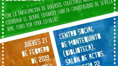 Debate sobre los huertos escolares en el Centro Cultural Biblioteca de Montequinto