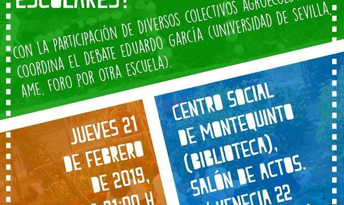 """Photo of Debate """"¿Son ecológicos nuestros huertos sociales y escolares?"""" en la Biblioteca de Montequinto"""