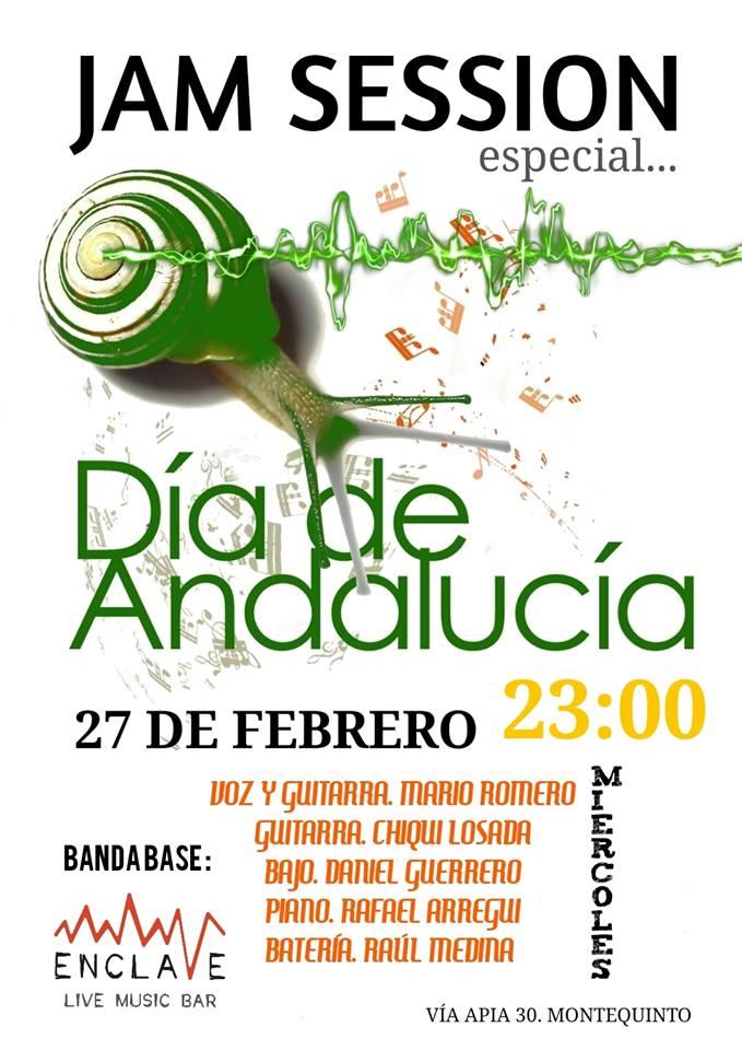 Día de Andalucía en Sala Enclave Montequinto